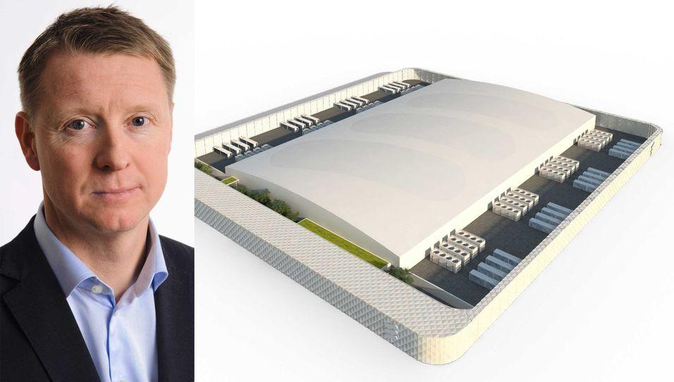 Ericsson-sjef Hans Vestberg bygger to datasentre i Sverige og ett i Canada for til sammen sju milliarder svenske kroner.