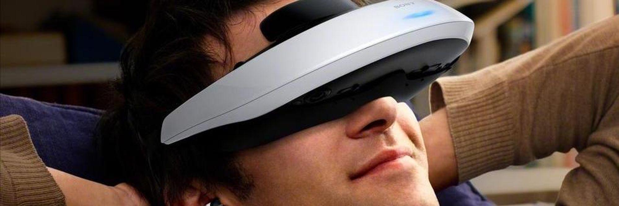 – Sony jobber med VR-briller til PlayStation 4