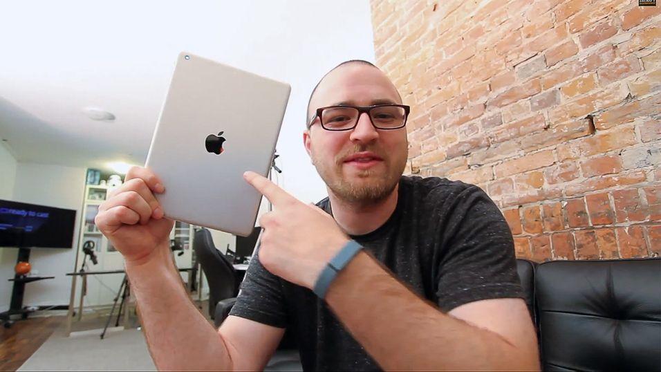 Video viser nye iPad