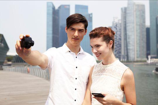 Selfies på et helt nytt vis.