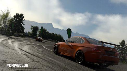 DriveClub lovar lekre bilar, fart og spaning.