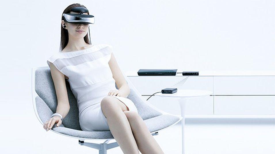 Her er Sonys nye 3D-hjelm