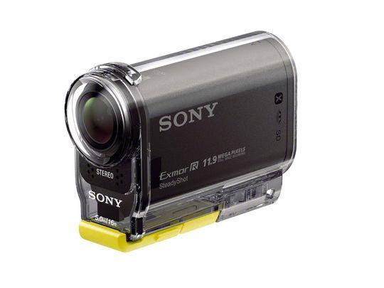 Sony ActionCam HDR-AS30 med beskyttelsesdeksel.