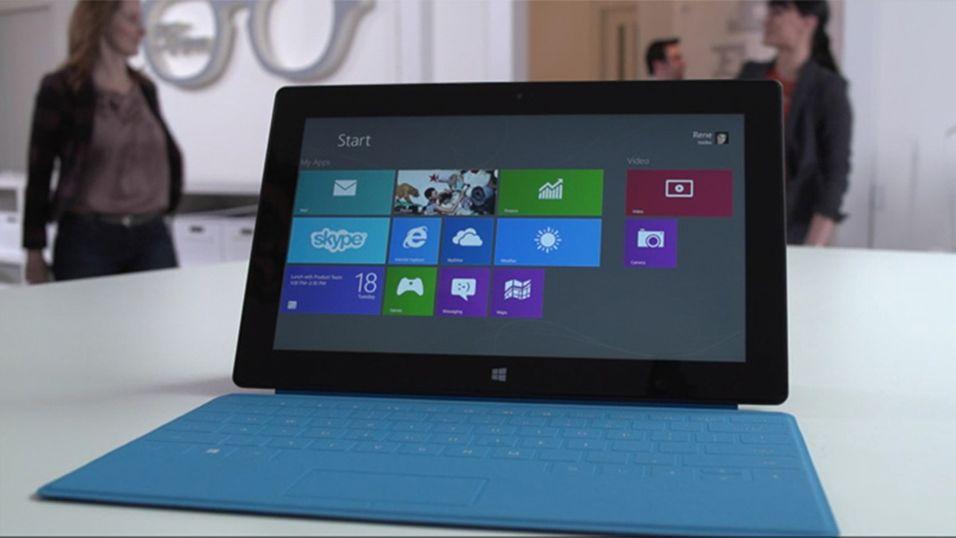 Info om Surface 2.0 lekket på nett