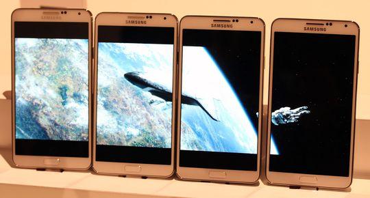 Her er funksjonen du aldri vil trenge - se film på stor skjerm satt sammen av flere eksemplarer av Galaxy Note 3.