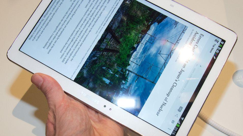 SNIKTITT: Nye Note 10.1 – lettvekter med heftig skjerm