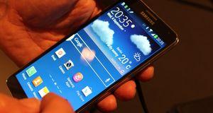 Samsung Galaxy Note 3 Nye Galaxy Note er et lekkert råskinn
