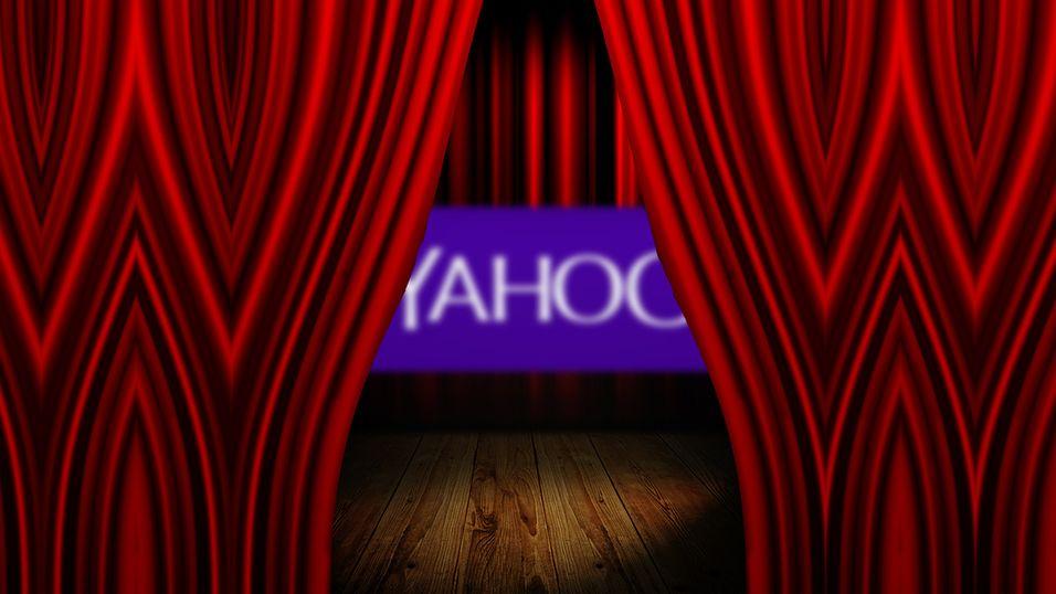 Yahoo avslører ny logo