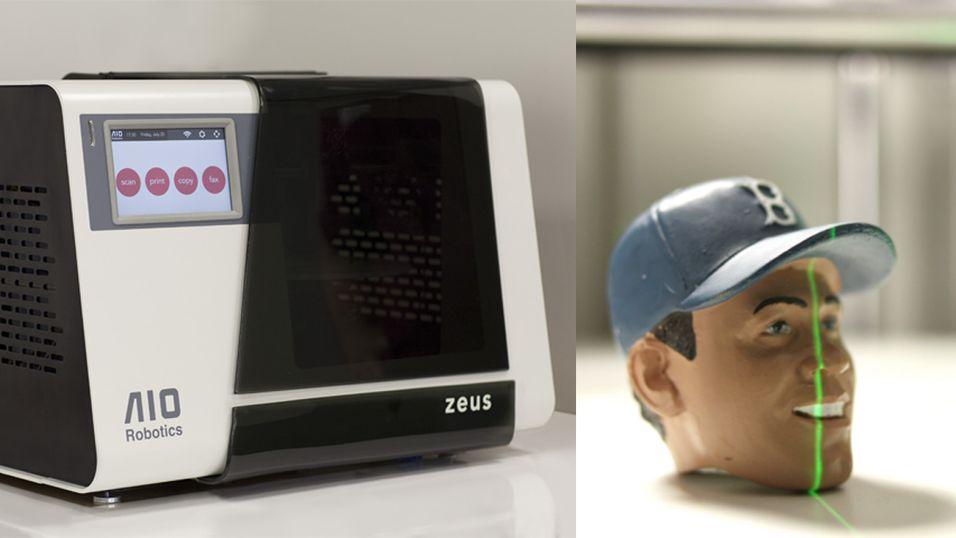 Zeus 3D-skriveren som gjør «alt»