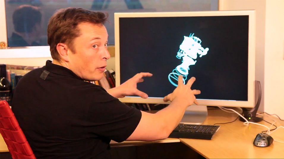 Her tar Elon Musk «en Iron Man»