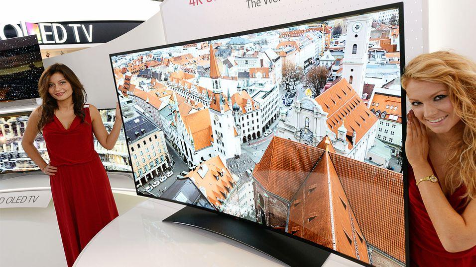 Gigantisk OLED-TV har vanvittig oppløsning
