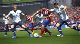 Skjermbilde fra FIFA 14.