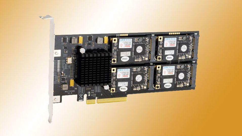 SSD-en som er avbildet er en tidligere modell fra samme serie som dagens nyhet. Det finnes ingen offisielle bilder av den nye modellen.