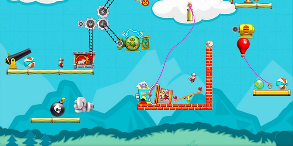 SNIKTITT: Contraption Maker