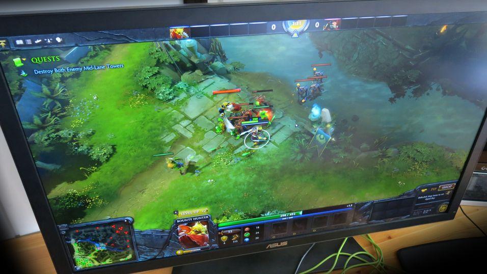 Asus' 4K-skjerm PQ321 får nok snart godt selskap.