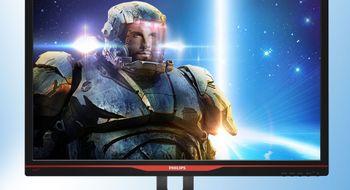 Her ser du Philips lynraske skjerm for spillere