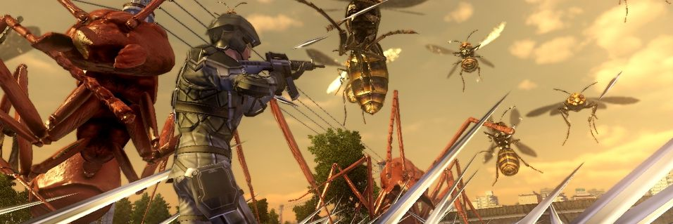 Nytt Earth Defense Force til PlayStation 4