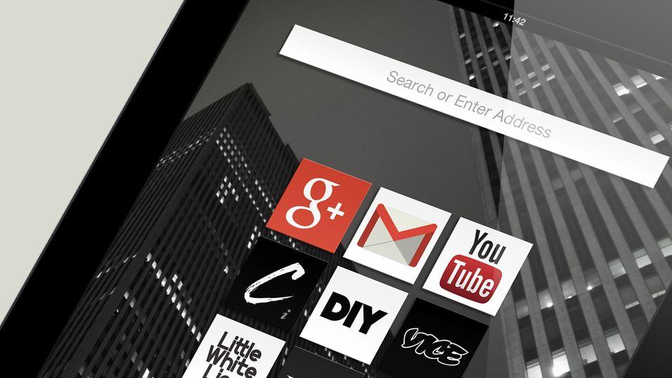 Opera med ny og annerledes iPad-nettleser