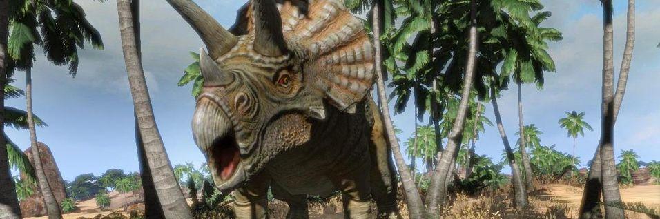 Dinosaurjakta er i gong