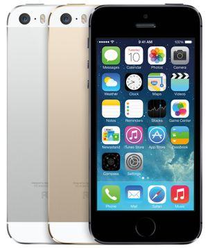 iPhone 5S kommer nå i en gullfarge, i tillegg til svart og hvit.