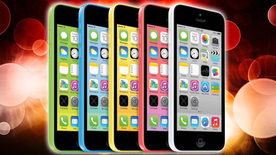 Android-kunder flørter med iPhone 5C