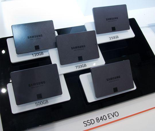 SSD-er synes de derimot er greit å vise frem.