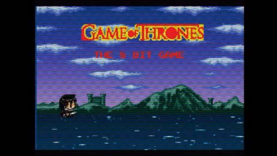 Spill Game of Thrones i 8-bit