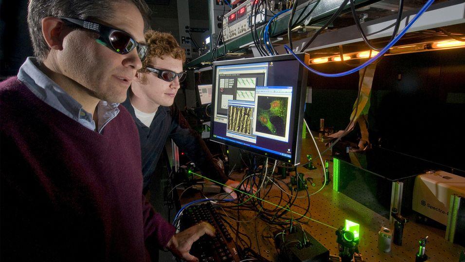 Denne laseren kan kutte ned flyplasskøen