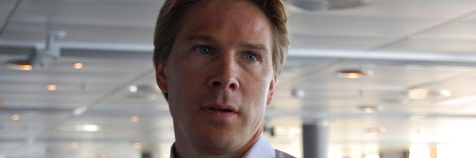 Telenor Digital-sjef Rolv-Erik Spilling trekker frem nye ess fra ermet etter sist ukes nedleggelse av strømmetjenesten Comoyo.