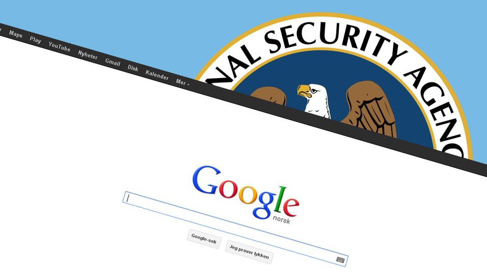 NSA kler seg ut som Google for å spionere