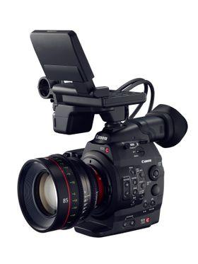 Moderne proffkameraer som Canon C500 stiller store krav til minnekortene.