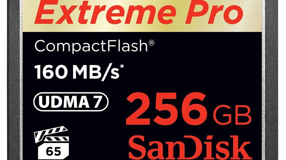 Slipper minnekort for 4K-video