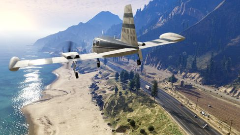 Grand Theft Auto V. (Bilde: 2K Games).