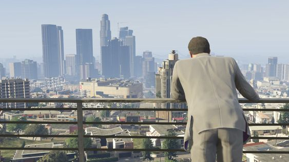 Michael skuler over Los Santos.