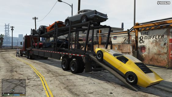 Grander Theft Auto.