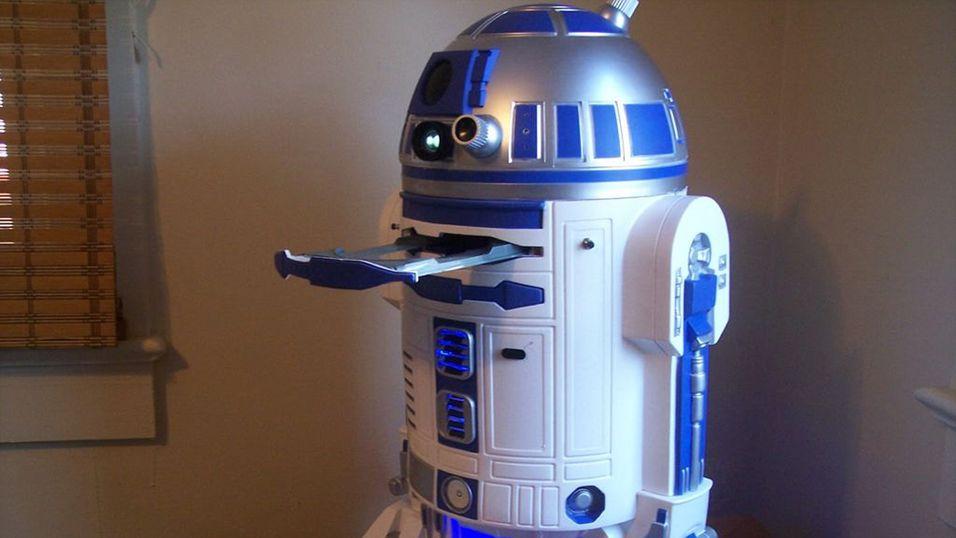 R2-D2 er oppgradert med Xbox 360 og PS3