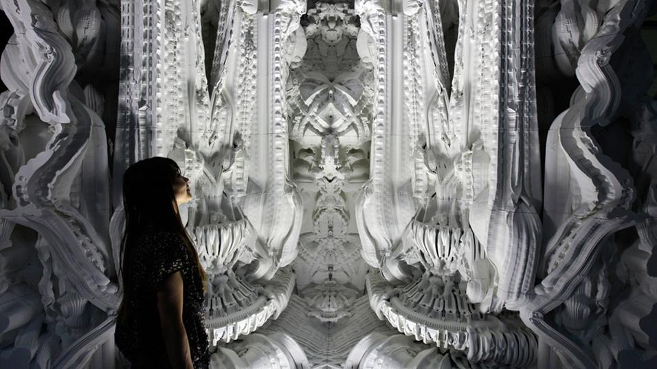 Se den massive, 3D-skrevne «Alien-katedralen»