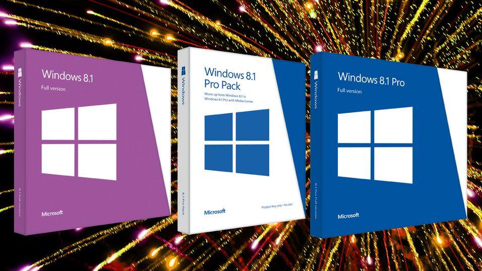 Nå er prisen på Windows 8.1 bekreftet