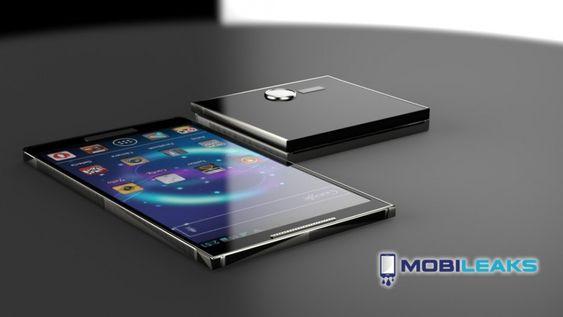 """OBS! Dette er KUN et konseptbilde av """"Samsung Galaxy S5""""."""