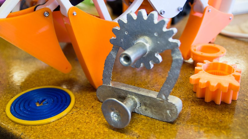Muligheten til å lage billige støpeformer er én av mange ting 3D-skrivere egner seg godt til.