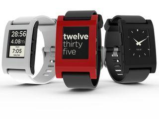 Den originale Pebble-klokken har e-papirskjerm, og dermed også forholdsvis god batteritid.