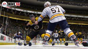 Tøffe tak i NHL 14.
