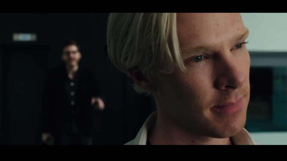 Benedict Cumberbatch som Julian Assange i «The Fifth Estate».
