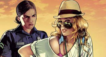 Den nedlastbare utgaven av Grand Theft Auto V sliter