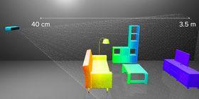 Occipital Structure er mer egnet for en liten stue enn for en stor gymsal.
