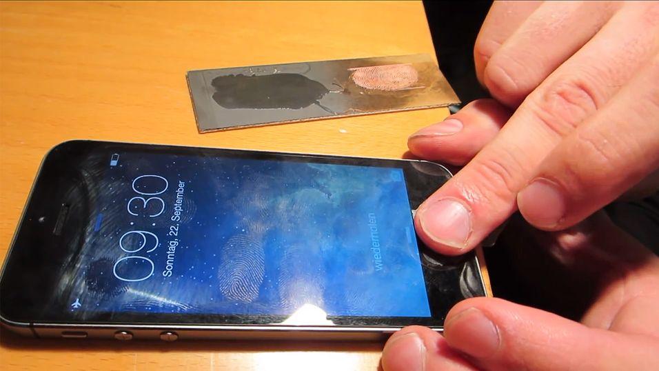 Her lures fingeravtrykkleseren på nye iPhone 5S