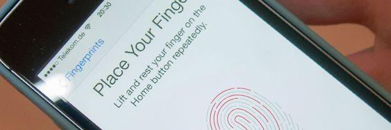 Trykk og betal med Touch ID.
