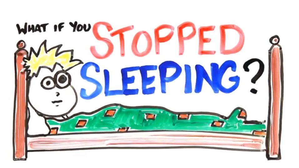 Hva skjer hvis du aldri sover igjen?