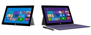 Nye Surface 2 og Surface Pro 2 er lansert fra Microsoft.