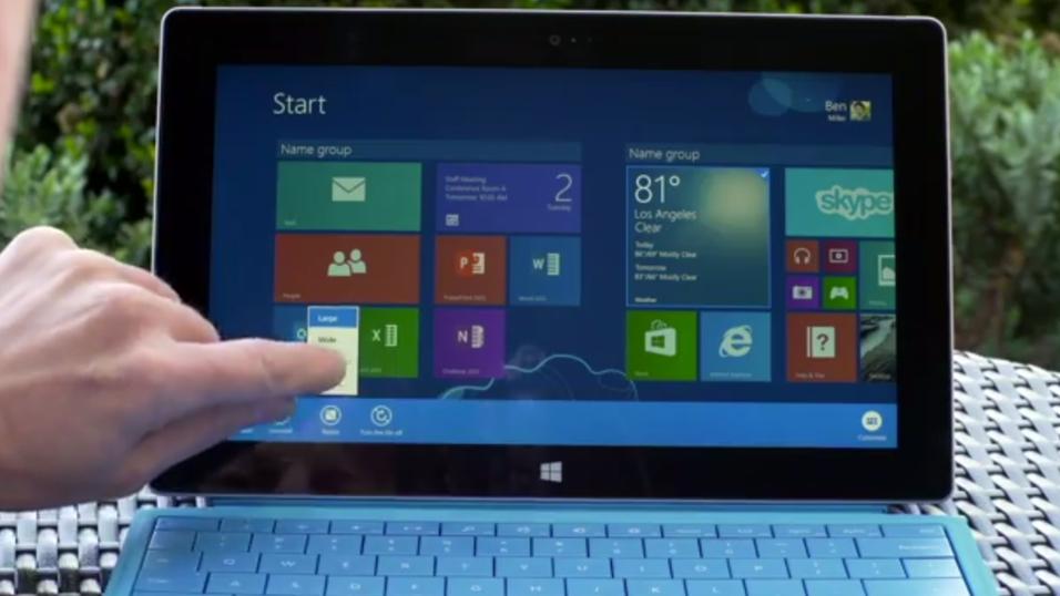 Nye Surface Pro 2.